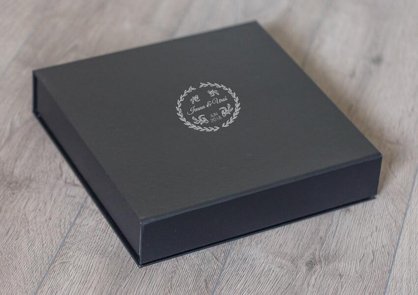 SkyBook Studio Classic Box Deep Gray UV Print