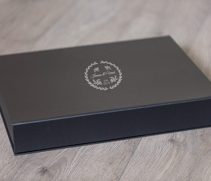 SkyBook Studio Classic Box Deep Gray UV Print