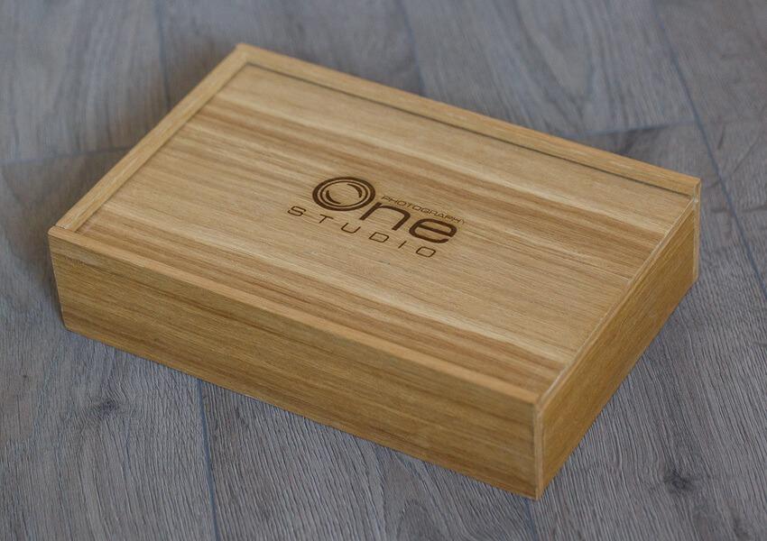 SkyBook Studio Nature Wood Box UV Graviranje