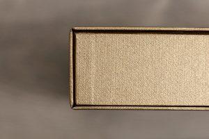SkyBook Studio Standard Archive Box Photobook Golden Brown