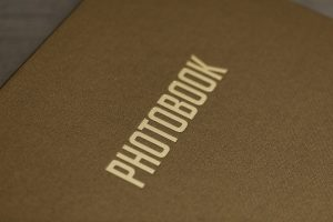 SkyBook Studio Standard Archive Box Photobook Golden Brown