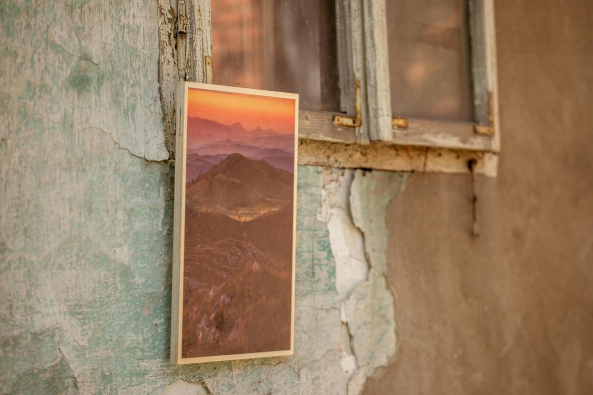 Wood Print - Štampa na drvetu